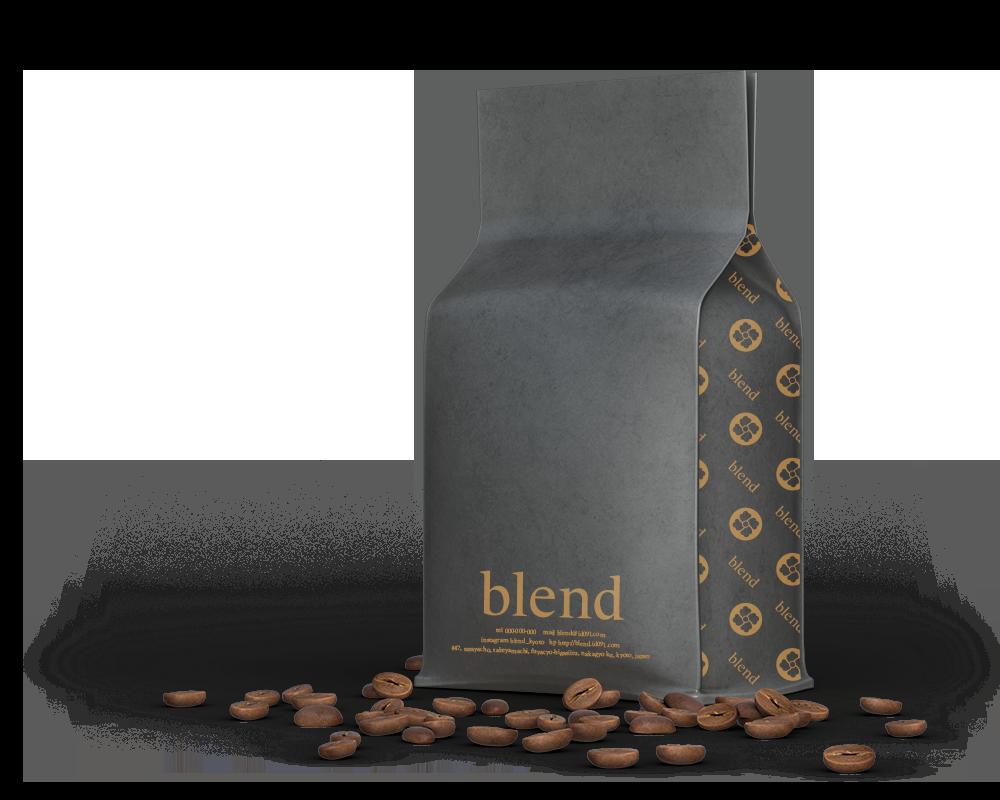 コーヒー豆パッケージ